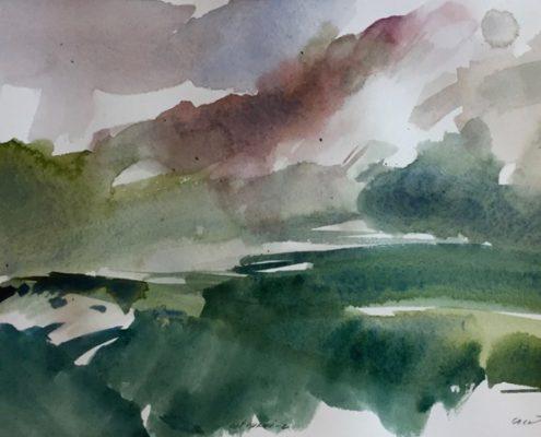 Cotopaxi 2 by George Woollard