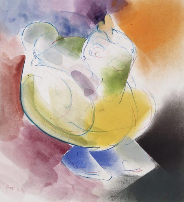 Bird 2 by George Woollard