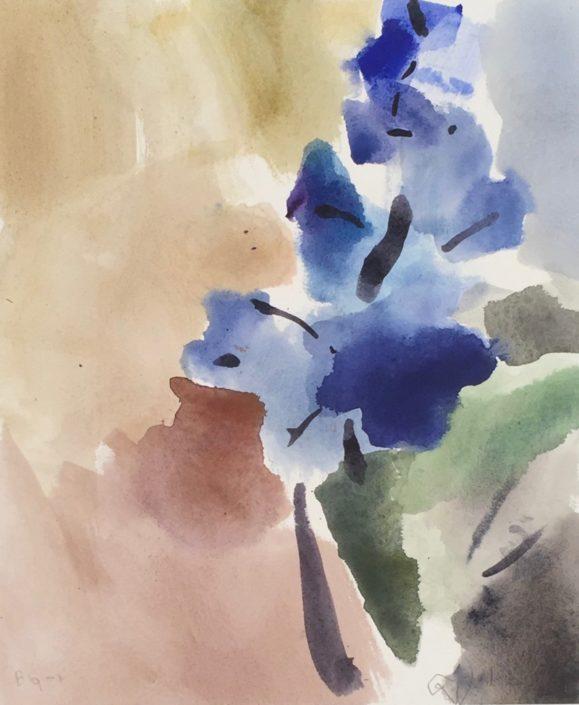 Blue Ginger 1 by George Woollard