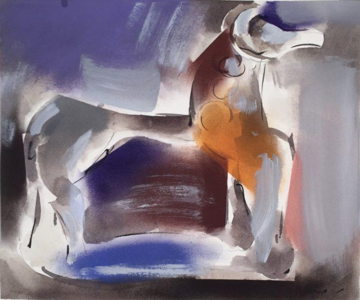 Horse by George Woollard