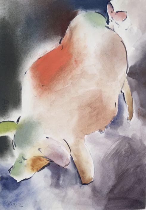 Pig 2 by George Woollard