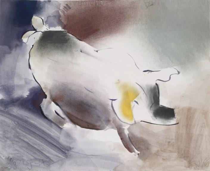 Pig 4 by George Woollard