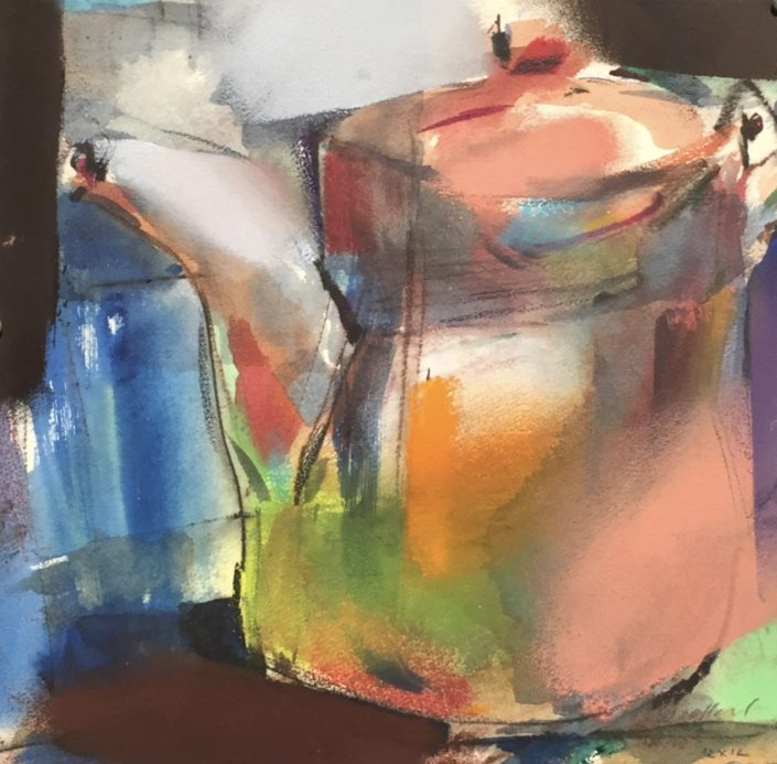 Tea Pot by George Woollard